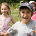 Weir River Farm: kids running