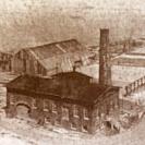 Brickyard: historic photo - sepia