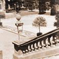 Castle Hill: Casino historic sepia photo